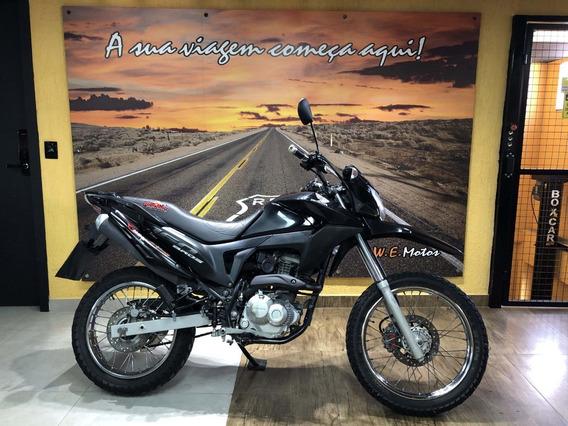 Honda Nxr 160 Bros Esdd 2016 Preta