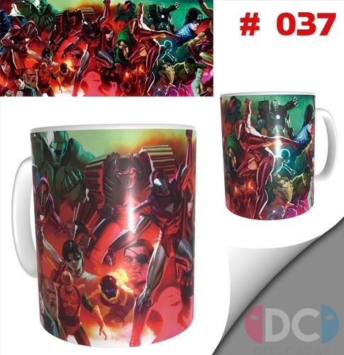 Taza Comics Coleccionables Iron Man #037