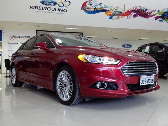 Ford Fusion Awd 2016 Vermelho Gasolina