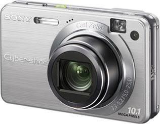 Câmera Digital Sony Cyber Shot Dsc W170 Perfeito Estado