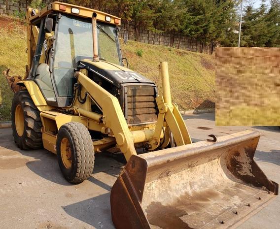 Retroescavadeira Caterpillar 416d 2004 - 4x2