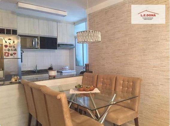 Apartamento Com 3 Dormitórios Para Alugar, 70 M² Por R$ 2.500/mês - Jaguaré - São Paulo/sp - Ap2141