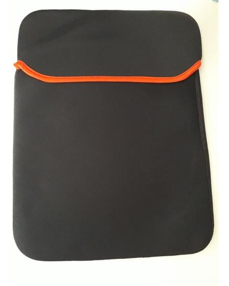 Capa Para Notebook Preta Neoprene 14