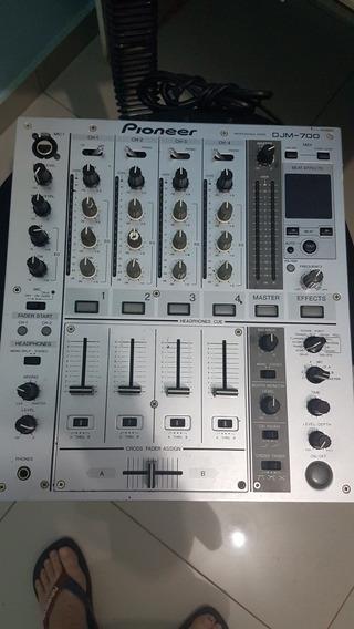 Mixer Pioneer Djm 700 Silver Bivolt