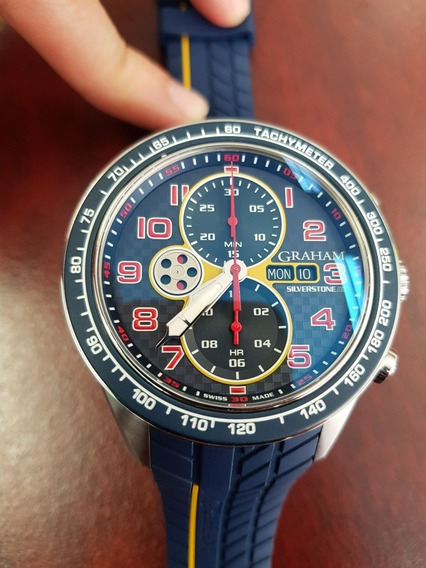 Graham Silverstone Rs Azul 100% Original