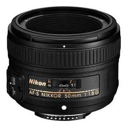 Lente Objetivo Nikon Nikkor Af-s 50 Mm F 1.8 G