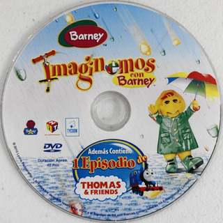 Imaginemos Con Barney Dvd