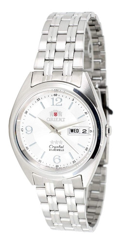 Reloj Automático Orient Plateados 100% Tecnologia Japoneza