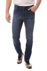 Calça Jeans Eventual Slim Fit Azul