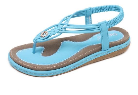 Zapatos Mujeres Sandalias Verano Casual Ocio Zapatos Playa