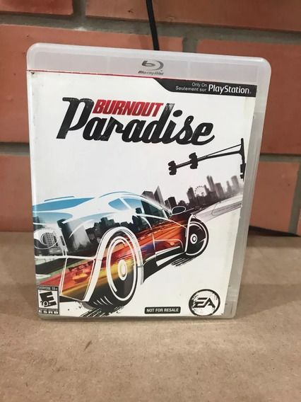 Burnout Paradise Playstation 3 Ps3 Mídia Física Original