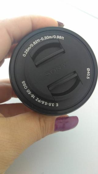 Lente Sony 16-50mm Oss (novo)
