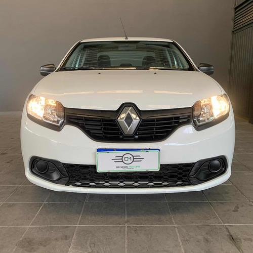 Imagem 1 de 9 de Renault Logan 2020 1.0 12v Authentique Sce 4p