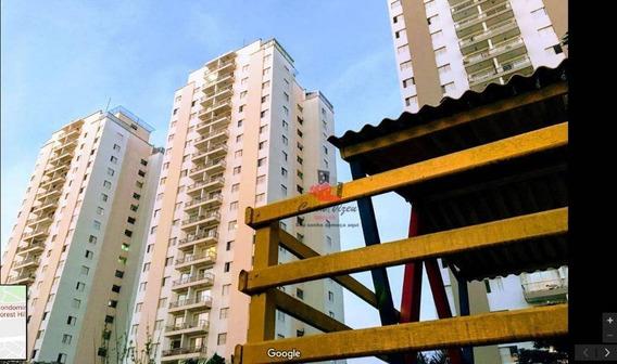 Apartamento Com 3 Dormitórios Para Alugar, 85 M² Por R$ 2.300/mês - Jardim Marajoara - São Paulo/sp - Ap0875