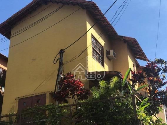 Casa Com 2 Dormitórios, 119 M² - Venda Por R$ 200.000,00 Ou Aluguel Por R$ 850,00/mês - Sape - Niterói/rj - Ca1002