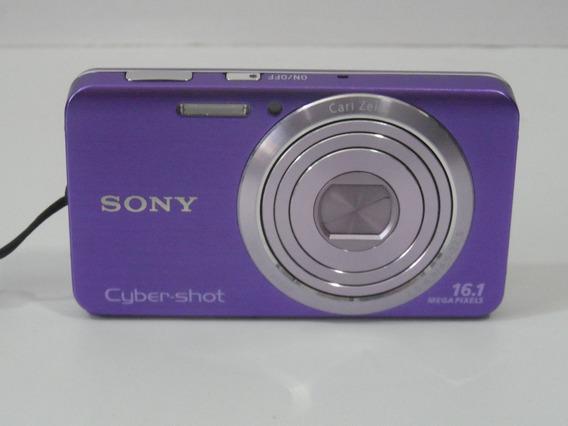 Camera Usada Sony Digital W630 16mp Promoção + Brindes