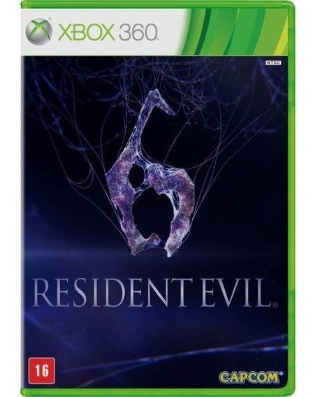 Resident Evil 6 (mídia Física) - Xbox 360