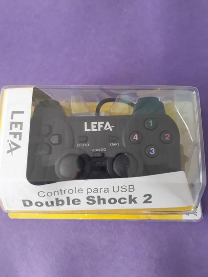 Controle Para Usb Jogos Pc_double Shock 2