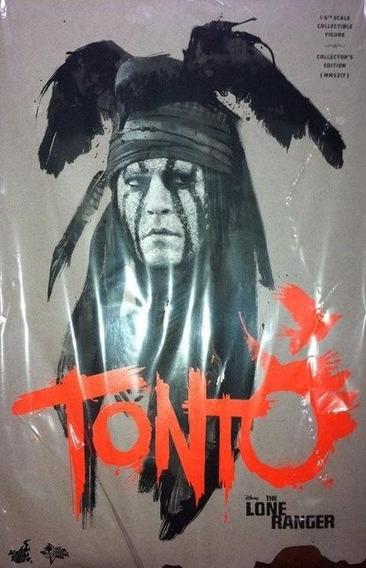 Hot Toys Disney Johnny Depp The Lone Ranger Tonto