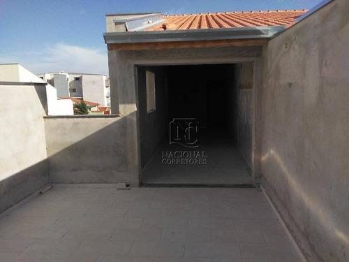 Imagem 1 de 21 de Cobertura Com 2 Dormitórios À Venda, 110 M² Por R$ 393.000,00 - Utinga - Santo André/sp - Co4698