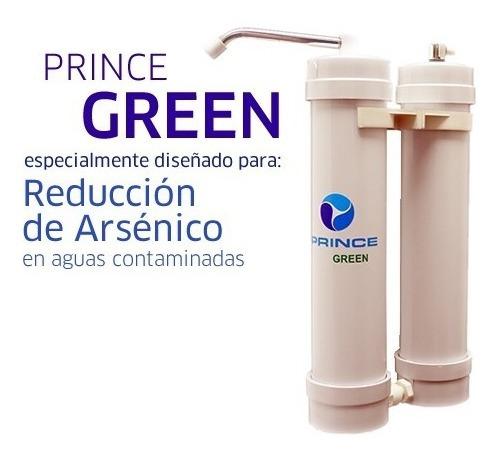 Purificador Agua Prince Green No Arsénico Aprobado Anmat