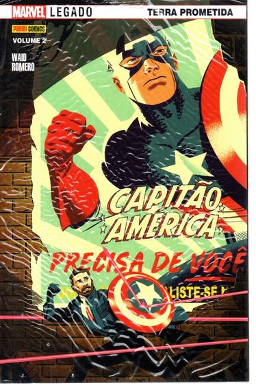 Capitao America 02 2ª Serie - Panini 2 - Bonellihq Cx18 D19