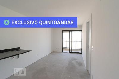 Apartamento No 27º Andar Com 1 Dormitório E 1 Garagem - Id: 892919721 - 219721