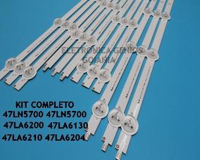Kit Led Tv Lg 47la6200 47la6210 47la6204 47ln5400 47ln5700