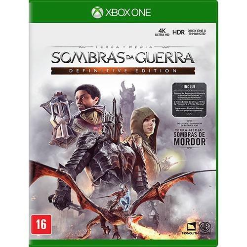 Jogo Xbox One Sombras Da Guerra Definitive Edition (lacrado)