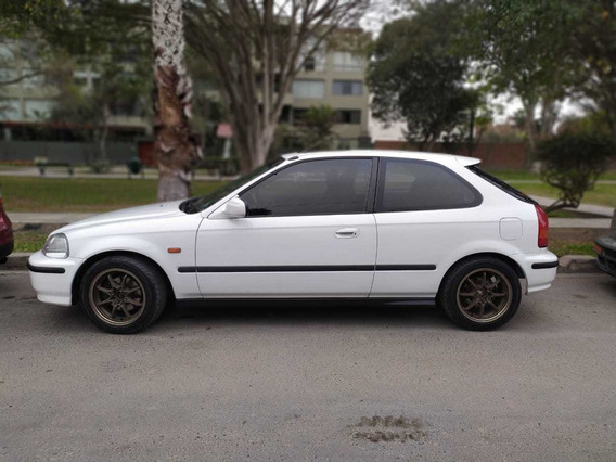 Honda Civic Ek4 Vti 98 Blanco