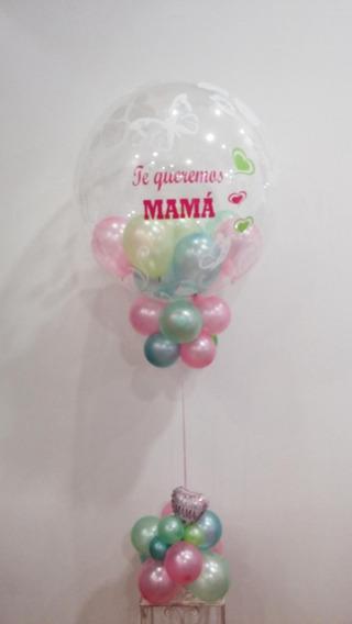 Dia De La Madre Globo Bubble Cristal Personalizado Inflado