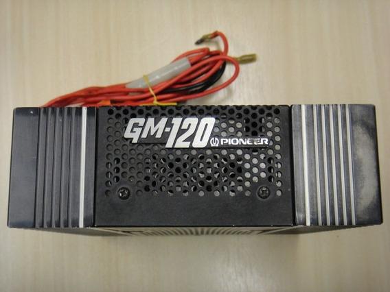 Amplificador Modulo Potencia Pioneer Gm-120 Antigo Vintage