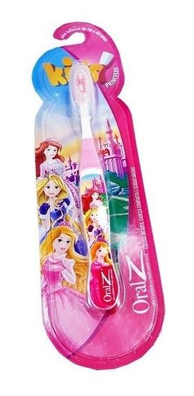Escova Dental Macia Dentes Infantil Princesas Disney