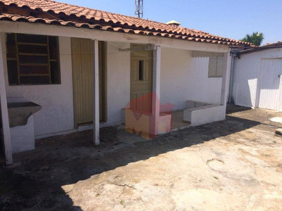 Casa Com 1 Dormitório Para Alugar, 50 M² Por R$ 550/mês - Vila Santa Catarina - Americana/sp - Ca0400