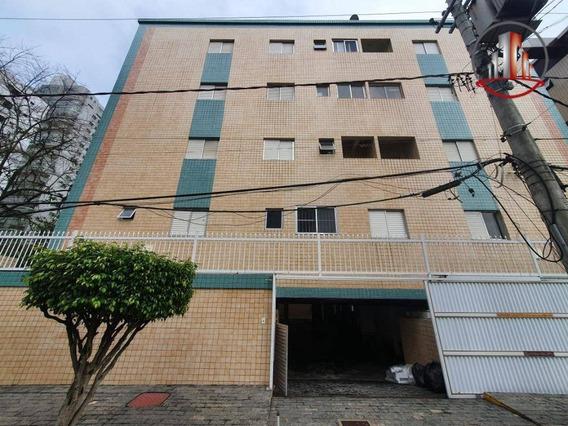 Excelente Kitnet Com 1 Dormitório À Venda, De 30 M² Por R$ 120.000 - Tupi - Praia Grande/sp - Kn0242