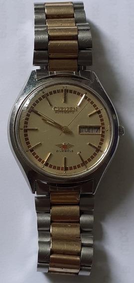Relógio Citizen Automático 71-2639 Precisa De Revisão
