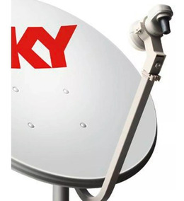 2 Antenas Cabo Coaxial Lnb Simpl. Conectores Promoção Ku;