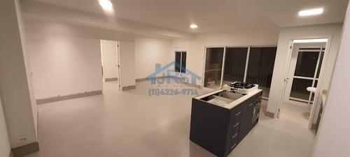 Apartamento Com 3 Dormitórios Para Alugar, 110 M² Por R$ 5.500/mês - Alphaville Empresarial - Barueri/sp - Ap4266