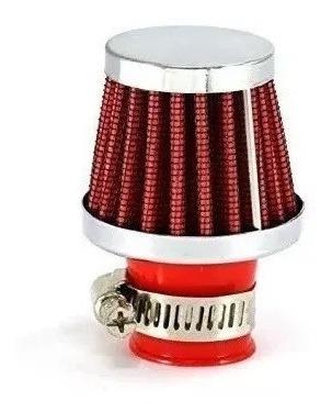 Filtro Mini De Aire Tipo K & N Deportivo Tuning Rojo