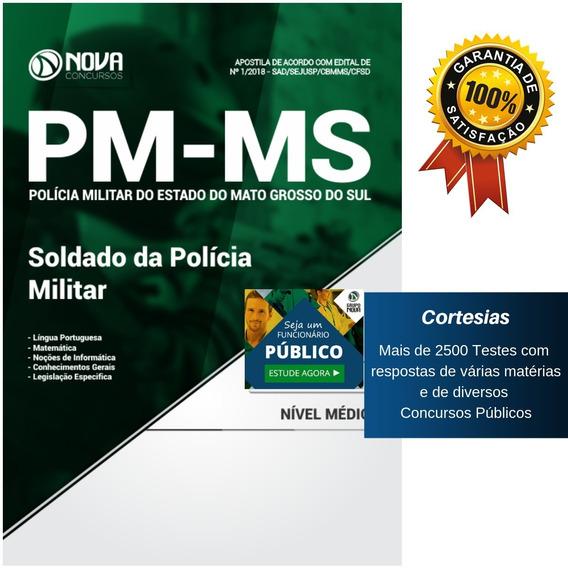 Apostila Polícia Militar Do Mato Grosso Sul - Soldado Pm Ms