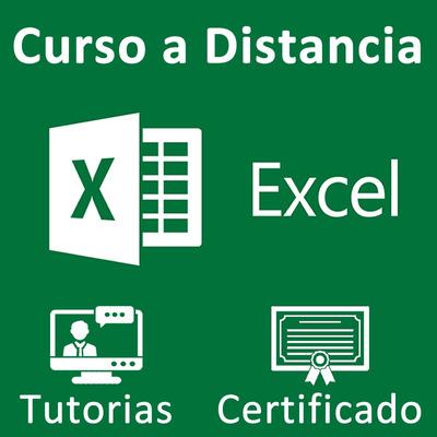 Curso Excel Modalidad Distancia Con Certificación Y Tutorias