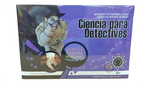 Imagen 1 de 1 de Detectives Juego De Ciencias