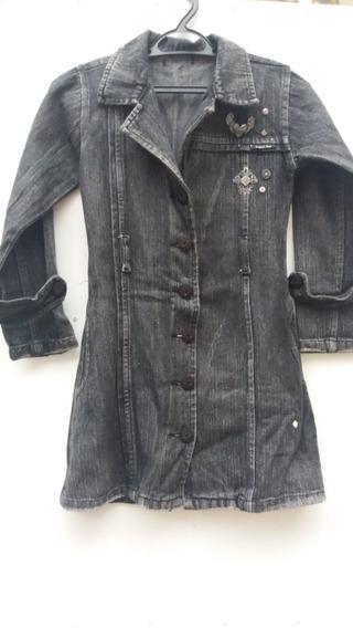 Sobretudo / Vestido Jeans Infantil - Piang Pee - F&s