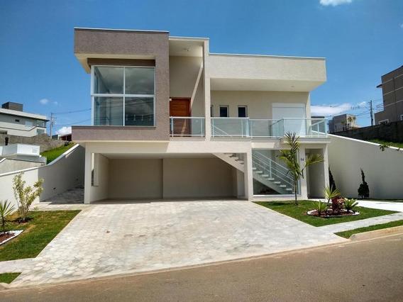 Casa Em Condomínio Para Venda Em Bragança Paulista, Villa Real De Bragança, 3 Dormitórios, 3 Suítes, 4 Banheiros, 3 Vagas - 5841
