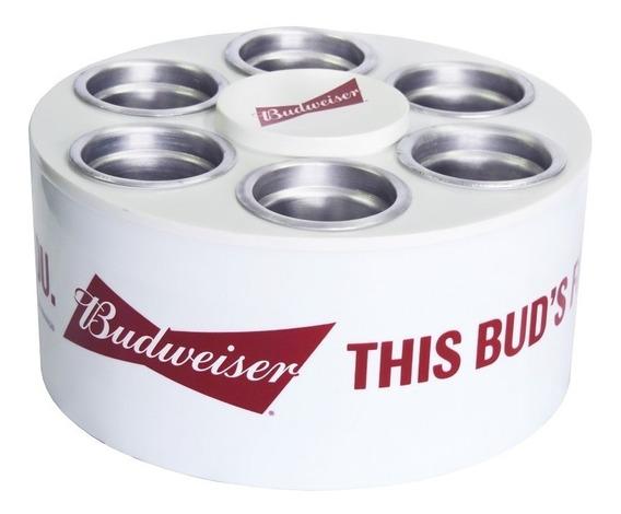 Cooler Térmico 3g Cerveja Budweiser Para 6 Latas 350 Ml Novo