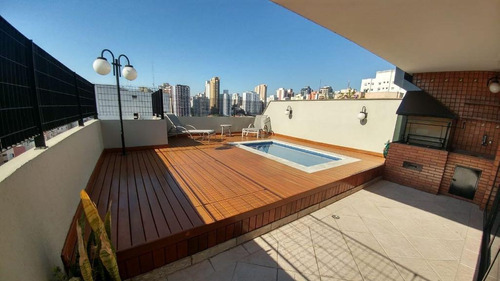 Cobertura Com 4 Dormitórios À Venda, Perdizes - São Paulo - 12715
