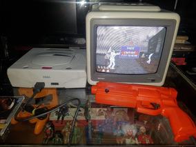 Pistola Para Jogo De Tiro Sega Saturno.pio-agni Games