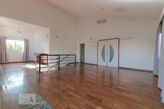 Casa Para Aluguel - Lot. Alphaville Campinas, 4 Quartos, 390 - 893047515