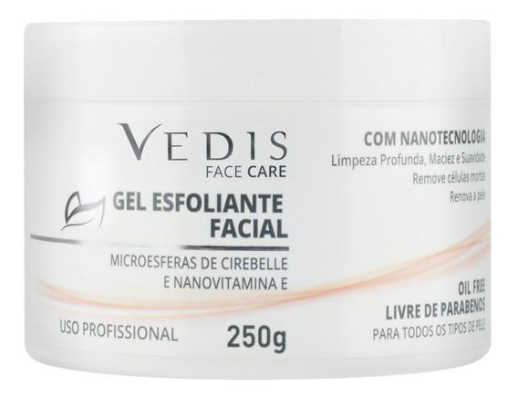 Gel Esfoliante Facial Com Nanovitamina E 250g - Vedis