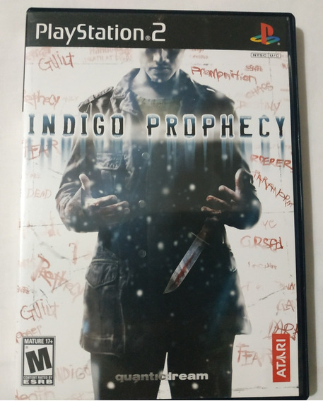 Fahrenheit Indigo Prophecy Playstation 2 Original Completo